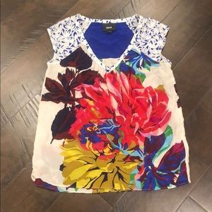 ❤️NWOT❤️ BEAUTIFUL Maeve Silk Anthropologie Blouse